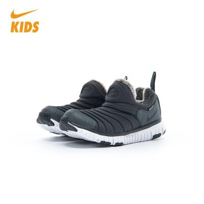 NIKE耐克男女童婴童鞋 2018冬季新款加绒款毛毛虫运动轻质舒适跑步鞋 AA7217