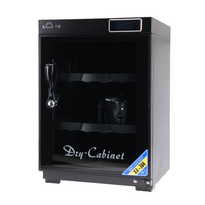 卡赛(KAssA)KS-304 电子防潮箱 大号单反干燥箱防潮柜数字液晶显示 简易锁 单开门