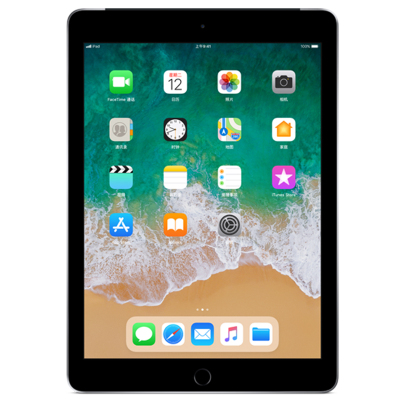 Apple iPad MP262CH/A 平板电脑 9.7英寸(128G/WLAN + Cellular)深空灰色