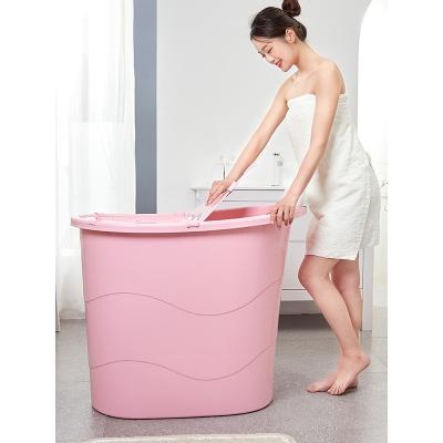 洗澡桶浴缸浴桶洗澡盆大人全身成人加厚塑料儿童沐浴桶家用阿斯卡利洗澡盆