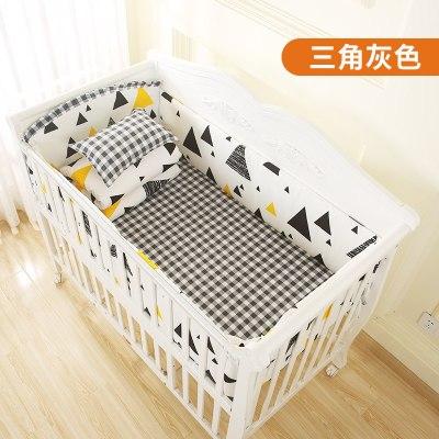 嬰兒床床圍床上用品套件四季防撞寶寶床圍六七八件套可訂做