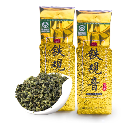 绿色食品认证 一农特级清香型安溪铁观音250g袋 乌龙茶叶 福建茗茶