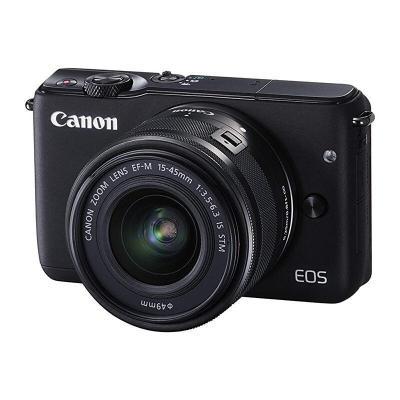 【二手95新】佳能/Canon EOS M10+(15-45mm)【套机】自拍美颜旅行必备佳能微单