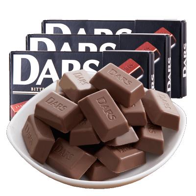 【DARS黑巧克力3盒】森永日本進口達詩黑巧克力3盒裝表白進口零食禮物送女生