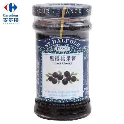 【家乐福】圣桃园黑樱桃果酱170克