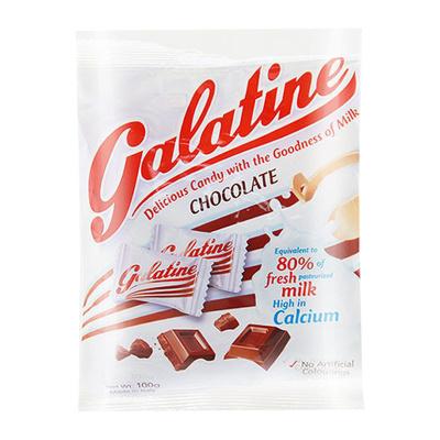 【巧克力味奶片】佳乐锭(Galatine)牛奶片牛乳糖巧克力味 115g/袋 休闲零食糖果 进口食品 意大利进口