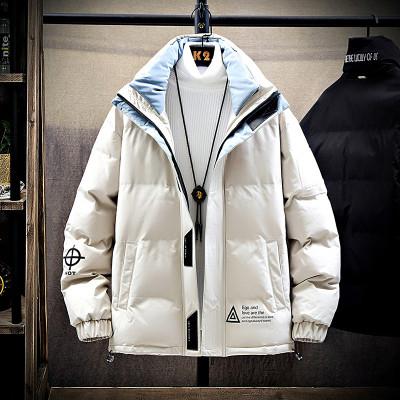 攀豹 棉衣男士宽松加厚棉服2019冬季新款韩版潮流工装外套青少年上衣服