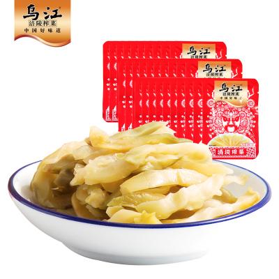烏江涪陵榨菜絲小包裝15g清淡榨菜30袋咸菜下飯菜佐餐開味小菜