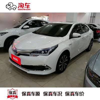 【订金销售】 丰田 卡罗拉 2016款 双擎 1.8L CVT 领先版 淘车二手车