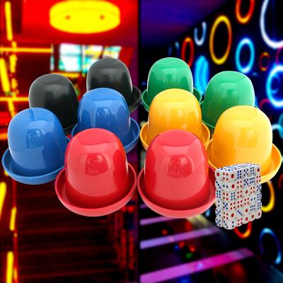 骰子骰盅酒吧夜店KTV用品塞子篩子色盅甩盅篩盅套裝送搖色子