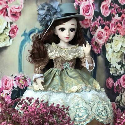 星域传奇 60厘米芭比娃娃礼盒套装女孩公主玩具会说话的洋娃娃bjd仿真智能娃娃