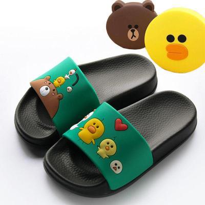 兒童拖鞋夏室內男防滑涼拖卡通男童專用軟底中大童浴室寶寶女