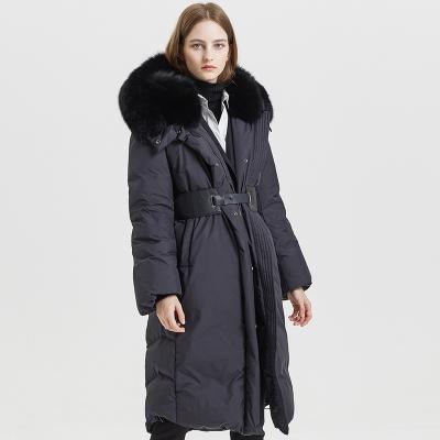 【1件2.7折:399.1】ME&CITY女冬季通勤加厚大拉鏈流行羽絨服
