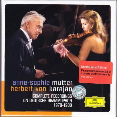 正版 卡拉揚&穆特合作錄音全集 原版進口CD碟 4777572