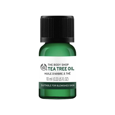 THE BODY SHOP 英国TBS茶树精油祛痘 清洁收缩毛孔10ml