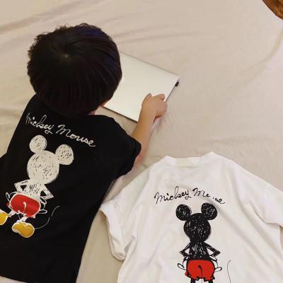 【親子裝】2020夏季新款純棉母女裝父子家庭一家三口情侶短袖T恤