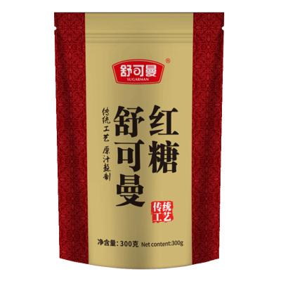 舒可曼红糖300克/袋装 食糖 传统工艺 冲饮调味品 舒可曼(SUGARMAN)出品 国产