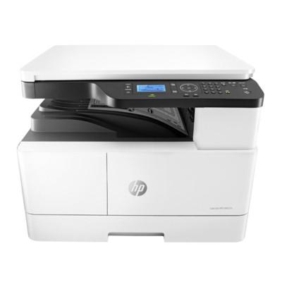 惠普(HP) LaserJet MFP M437n 黑白A3數碼復合機(有線網絡 打印 、復印、掃描)(尊享服務)