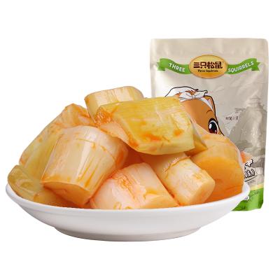 【三只松鼠_爽口脆笋192g】素食特产竹笋零食笋尖笋干笋片香辣味