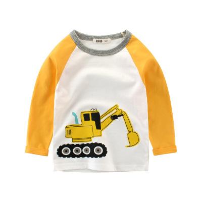 童裝新款2020春款 男童長袖兒童T恤寶寶打底衫 元氣小猴STRONG MONKEY