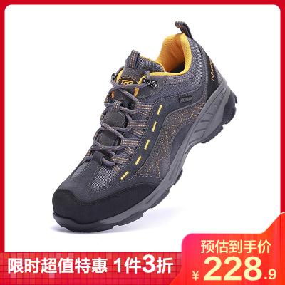 TFO 登山男女士防水防滑低幫秋冬季徒步鞋