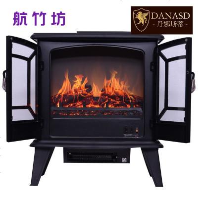 欧式大独立壁炉取暖器 家用仿真火焰电壁炉芯 移动式小壁炉 stove