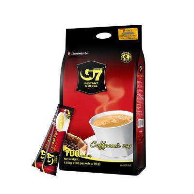 越南中原G7三合一速溶咖啡1600g
