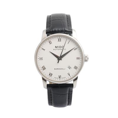 【二手95新】美度Mido貝倫賽麗系列M8600.4.26.8男表自動機械奢侈品鐘手表