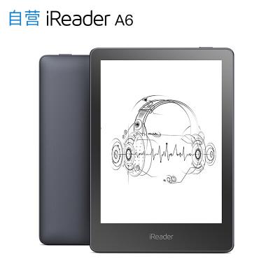 掌阅 iReader A6 电子书阅读器 6英寸电纸书 听读一体蓝牙听书墨水屏8GB 太空灰