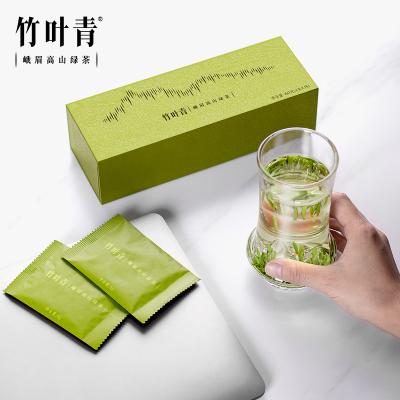竹叶青茶叶峨眉高山绿茶特级(品味)礼盒60g