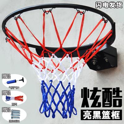 MOREKO美科標準比賽籃球圈籃球框 家用墻壁式籃球架籃筐