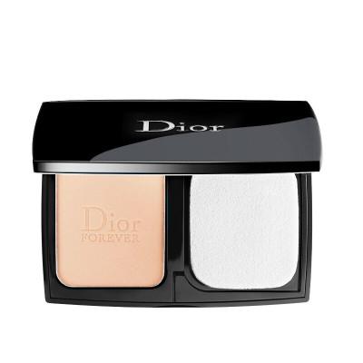 迪奧(Dior)粉餅FOREVER凝脂恒久控油定妝保濕粉餅9g 020#自然色 遮瑕啞光親膚控油提亮