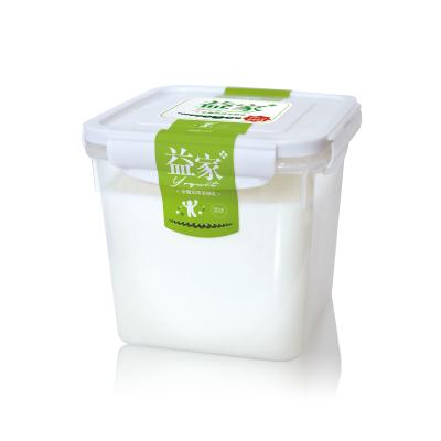 【航空直发】新疆天润酸奶益家4斤润康原味浓缩牛奶老酸奶2kg桶装