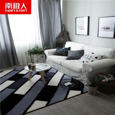 南極人(NanJiren)家紡 北歐地毯客廳臥室滿鋪可愛房間床邊毯茶幾墊滌綸沙發榻榻米長方形地墊145*190