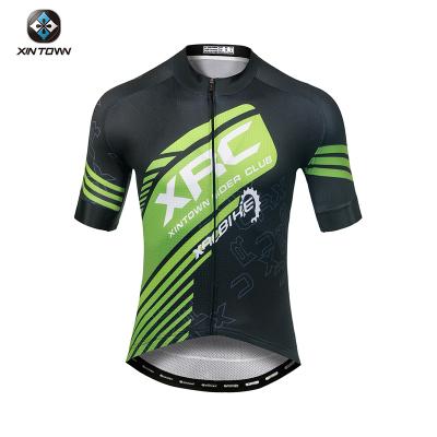xintown2019新款大碼自行車騎行服套裝男山地車短袖上衣短褲騎行衣服單車裝備