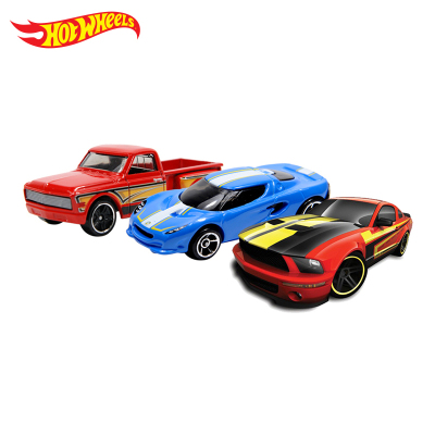 Hot Wheels 风火轮火辣小跑车玩具车模单只装 3岁以上 塑料锌合金 不含遥控器 不可充电 C4982