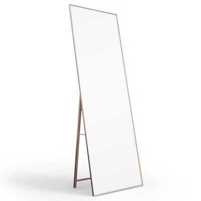 万代(WAnDAi)镜子全身穿衣镜落地家用服装店立体试衣网红ins风宿舍卧室大镜子