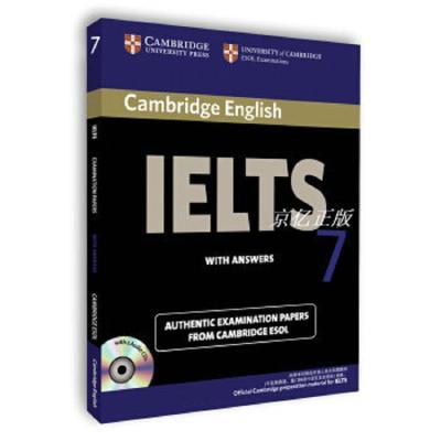 正版剑桥雅思考试全真试题集7: IELTS 7 剑桥大学出版社编 Cambr