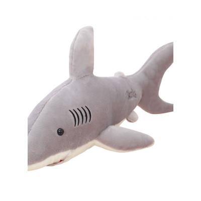 生日禮物女生創意實用生日禮物男女生創意實用鯊魚毛絨公仔大白鯊軟體抱枕玩偶睡覺陪睡布娃娃兒童節禮物送女友