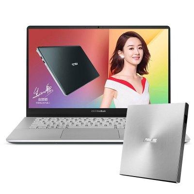 【套餐】华硕(ASUS)灵耀S 2代 14.0英寸笔记本+华硕8倍速 USB2.11 外置DVD刻录机