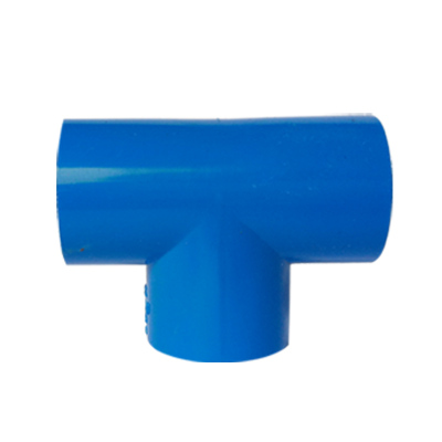 帮客材配 冰一点 中央空调专用排水接头 PVC三通(蓝色)规格:φ25 单价0.62元/个 起售数量50 150个免邮