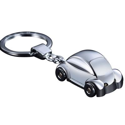 華飾汽車鑰匙扣 汽車用品男士女士腰掛鑰匙扣 汽車掛件用品鑰匙鏈環圈鑰匙扣 小汽車鑰匙圈 (帶LED燈)汽車內飾