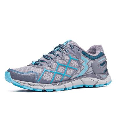 【國際線】361°Q彈跑鞋女輕便防滑減震戶外鞋登山越野運動鞋跑步鞋
