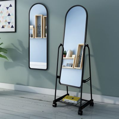 凡居乐穿衣镜全身镜落地镜家用试衣镜宿舍镜墙壁挂镜浴室镜挂墙卧室大镜子服装店镜子