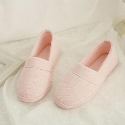 月子鞋 春夏秋季包跟软底产妇鞋拖鞋 春季孕妇产后鞋平底厚底防水防滑小单鞋