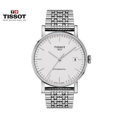 瑞士(TISSOT)天梭手表 魅時系列 機械表男士T109.407.11.031.00