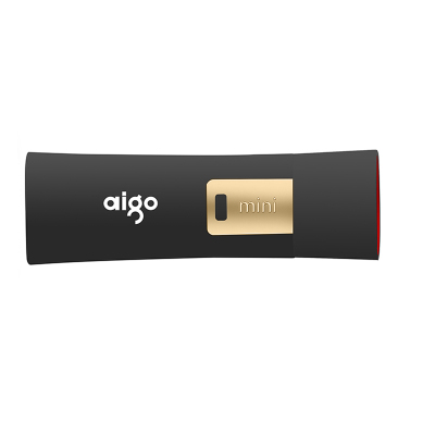 爱国者(aigo)256GB USB3.0 U盘 L8302 升级版写?;?防病毒入侵 防误删 黑色