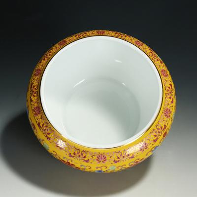 功夫茶具茶洗陶瓷洗茶杯碗茶道配件手工扒花杯洗碗水洗水盂