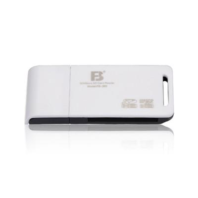 灃標二合一讀卡器FB-360,USB2.0接口
