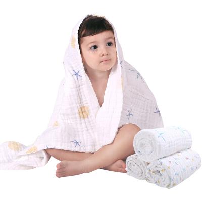 Spirit Kids 紗布浴巾10層寶寶純棉新生兒浴巾純棉紗布夏季嬰兒超柔吸水兒童浴巾